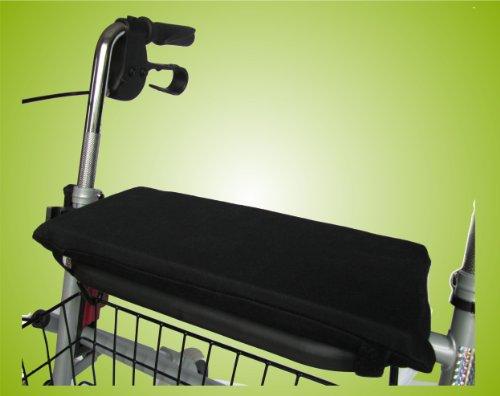 Sitzkissen für Rollator Rollatorkissen Rollatorsitzkissen Farbe: Dunkelgrau *Top-Qualität zum Top-Preis*