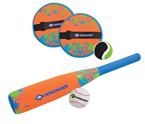 Schildkröt Funsports Neopren BASEBALL Set, Schläger und Ball; Soft Baseball Set, für Kinder & Familie 970120