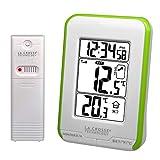 La Crosse Technology WS6810W-GREEN - Estación meteorológica, Color Verde