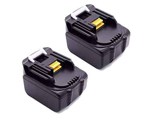 Bouyi Energy 14,4V 3000mAh Batería de Ion de Litio para Makita BL1430BL1415BL1440BL1450–1, 194065–3eléctrica Herramienta eléctrica 14,4V 3.0a
