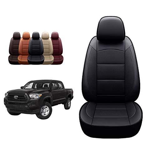 OASIS AUTO 2016-2021 Tacoma Custom Fit PU Leather Seat Cover Compatible with Tacoma...