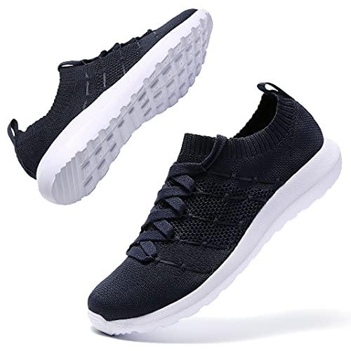 Zapatillas de deporte para mujer, ligeras, transpirables, para correr, para el tiempo libre, fitness, caminar, correr, etc., color, talla 41 EU