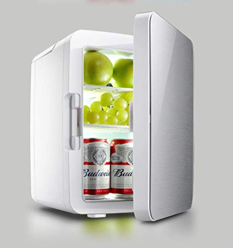 Réfrigérateur De Voiture Mini Congélateur De Voiture / Réfrigérateur Extérieur Portable Radiateur De Refroidissement 10 Litres Petit Réfrigérateur Domestique Miniature-argent Congélateur De Voiture