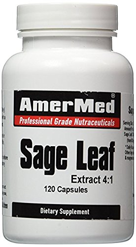 Amermed Sage Leaf Extract 4:1, 120 Capsules, 2-Pack