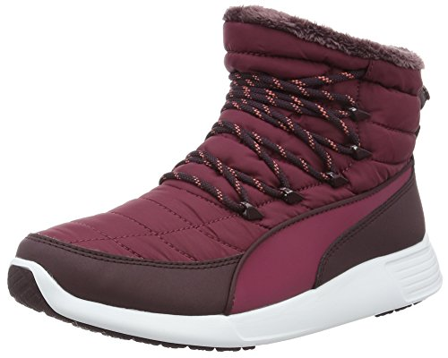 Puma Damen ST Winter Boot Schneestiefel, Rot (Red Plum-Red Plum 02), 39 EU