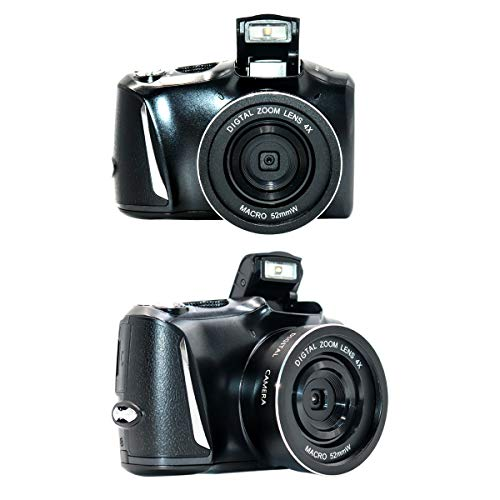 Cámara digital 2.7K Full HD Vlogging cámara 30MP cámara compacta 16X zoom digital YouTube Mini cámara videocámara videocámara