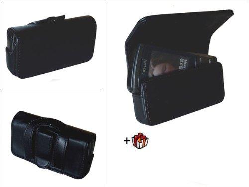 Samsung SGH G800 Tasche Etui geschlossen - Black Edition