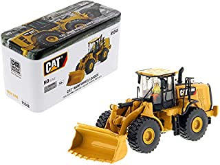 StarSun Depot New CAT Caterpillar 966M Wheel Loader with Operator High Line Series 1/87 (HO) Scale Diecast Model by Diecast Masters