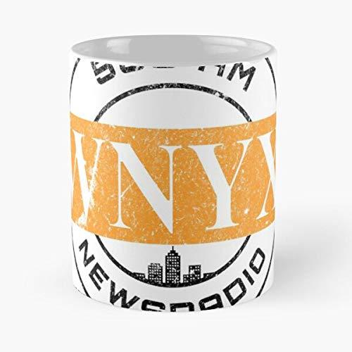 Radio Wnyx Hartman Tv News Phil Newsradio New The best 11oz White marble ceramic coffee mug I Customize