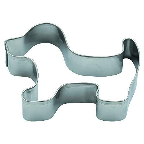Emporte-pièces en forme de chien 5,3 x 6,5 cm Acier inoxydable R4 Passe au lave-vaisselle
