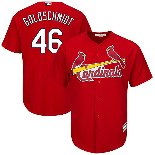 Paul Goldschmidt St. Louis Cardinals MLB Boys Youth 8-20 Player Jersey (Red Alternate, Youth Large)