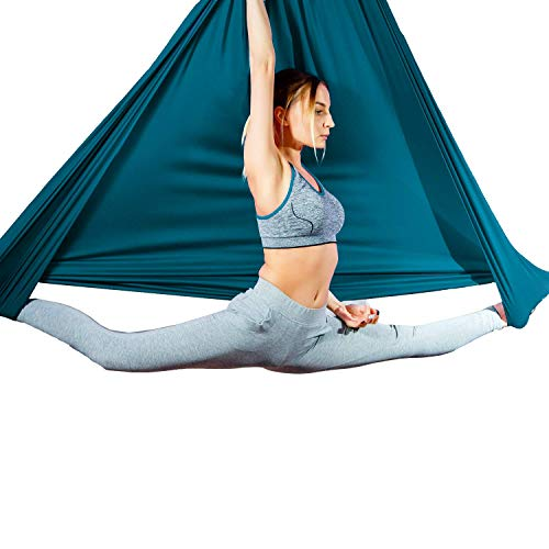 Why Should You Buy Aum Active Aerial Silk Fabric for Yoga Swing Pilates, Antigravity Yoga, Inversion...