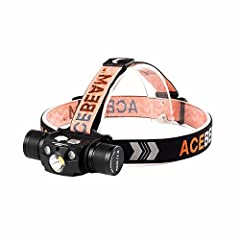 Super Bright 4000 Lumens Adjustable Led Headlamp: Cree XHP70.2 LED(White)/CREE XPE2-R2 630nm(Red)/CREE XPE2-G3 530nm(Green)which adds to the versatility of the H30. Lightweight Heavy Duty Adustable Strap: Made of high quality material-Reflective head...