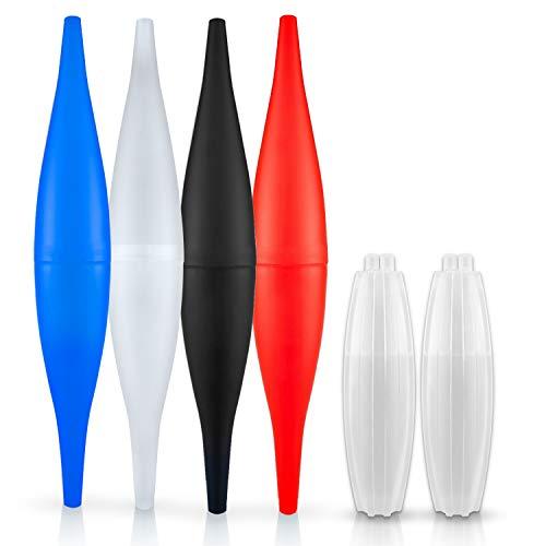Shisha Ice Bazooka 2.0 Weiß I Die Lösung für kühlen Genuss - Hochwertiges Ice Mundstück Set - Shisha Zubehör - Mundstück + Kühlpad - Premium Eisschlauch mit Außergewöhnlicher Kühlleistung