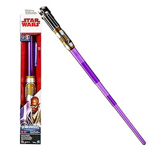 Star Wars Toy Scream Sabre Lichtschwert - Perfekt für Rollenspiele, Rollenspiel mit Sound und Effekten Das elektronische Lichtschwert Sith Mace Windu Purple