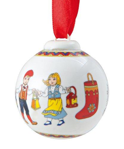 Hutschenreuther-mini boule 2011, bottes, design: ole winther porcelaine-minikugel porzellankugel boule de noël moustache porcelain mini ball/bateau/minisfera en porcellana stivale