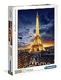 Clementoni Puzzle 1000 Piezas Tour Eiffel, Color (39514)