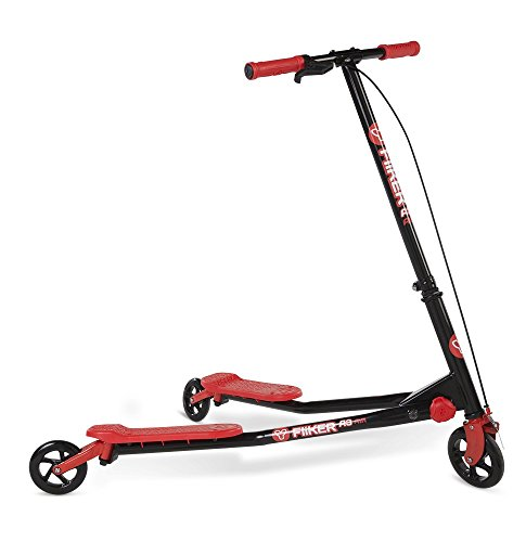 Y-Volution Kinder Kinderscooter Y Fliker A3, Rot