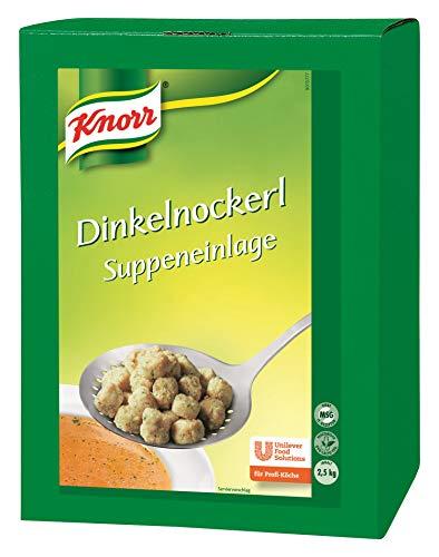 Knorr Dinkelnockerl (Suppeneinlage aus Dinkel und Gemüse) 1er Pack (1 x 2,5 kg)