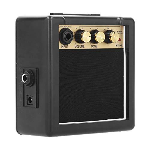 Amplificatore per basso, altoparlante per chitarra, amplificatore per chitarra digitale PG-3 3W Elegante altoparlante per basso portatile per chitarra elettrica Basso elettrico