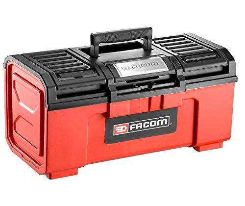 """FACOM BP.C19N - Caja de herramientas de plástico, 19"""" modelo pequeño, 237 mm de altura, 271 mm de ancho, 481 mm de longitud"""