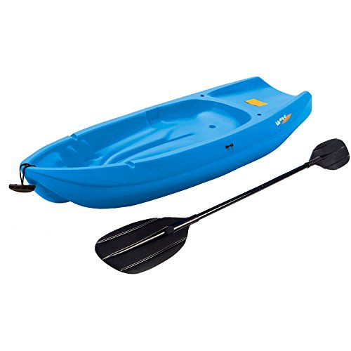 Lifetime, 6', 1-man Wave, Made From Durable HDPE, High Density Polyethylene Construction, Ergonomic Cockpit Design, Uv Protected, Youth Kayak, with Bonus Paddle (Blue)
