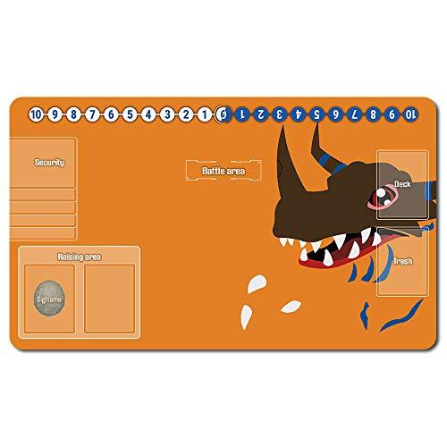 Digimon Playmat , Juego de mesa MTG, Tableros tapetes para juegos, Digimon tapete de juego de, Mesa tamaño 60 x 35 cm alfombrilla de juego para Yugioh Digimon Magic The Gathering - 701869ES