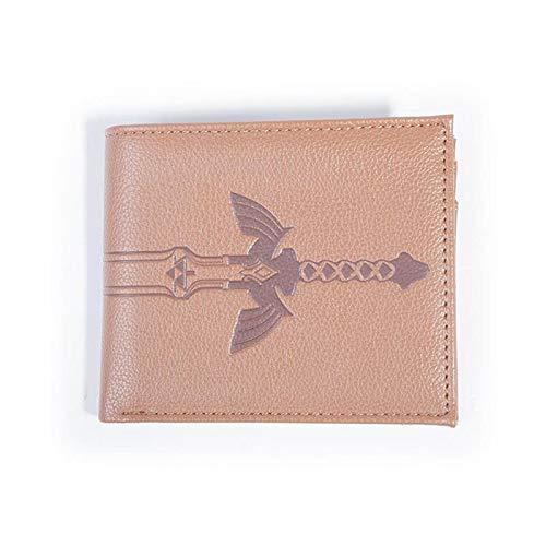 The Legend of Zelda Sword Bi-Fold - Monedero para Monedas, 16 cm, Color marrón