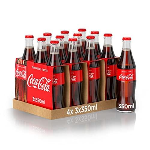 Coca-Cola Original Vetro - Confezioni Da 350 Ml, 4 Unità