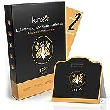 Panteer ® Mottenfalle gegen gleich 2 Mottenarten mit hoher Wirksamkeit - Mottenschutz für Kleiderschrank und Lebensmittelmotten Falle - Pheromonfalle - 6 Stück