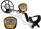 Metal Detector, Nalanda 18khz Professional Underground Gold Detector with 5 Detection Modes, Electronic
