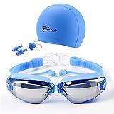 SZTUCCE Gafas de natación óptica + RX -RX Prescripción Gafas de...