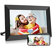 BIGASUO 10 Inch WiFi Digital Picture Frame with IPS HD Touch Screen