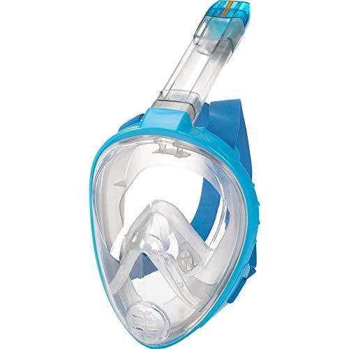 TECNOPRO Kinder M9 C Tauchmaske, Smoke/Blue, XS/S