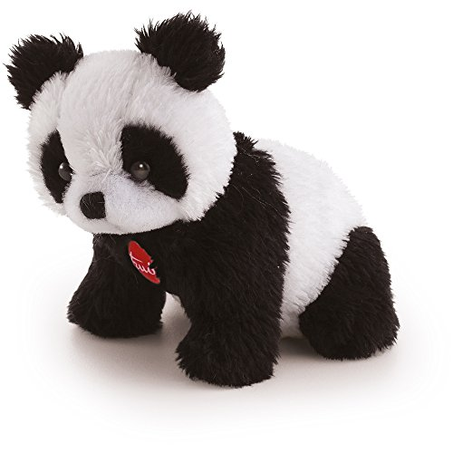 Trudi- SW col Panda Peluche, Colore Bianco/Nero, 50440