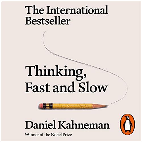 Thinking, Fast and Slow                   By:                                                                                                                                 Daniel Kahneman                               Narrated by:                                                                                                                                 Patrick Egan                      Length: 20 hrs and 1 min     1,559 ratings     Overall 4.3