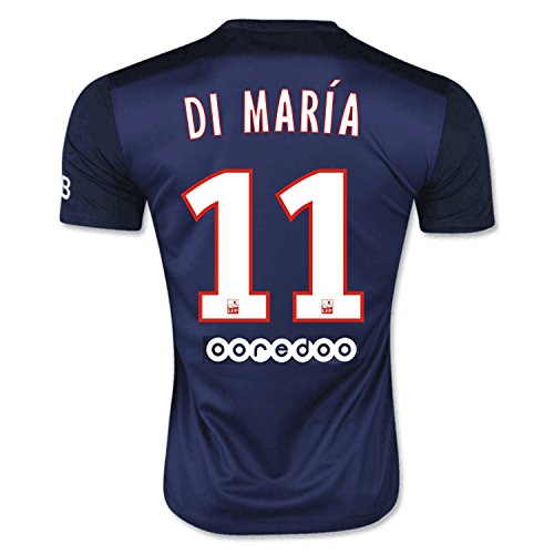 Nike Di Maria #11 Paris Saint PSG Home Soccer Jersey 2015/2016 (L)