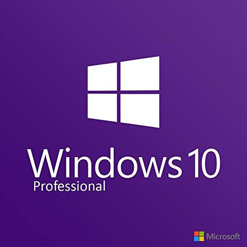 Windows 10 Professional 64 Bit OEM DVD - Windows 10 Pro License - for 1 PC