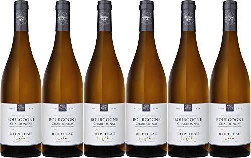 6x Bourgogne Chardonnay 2019 - Weingut Ropiteau Frères, Bourgogne - Weißwein