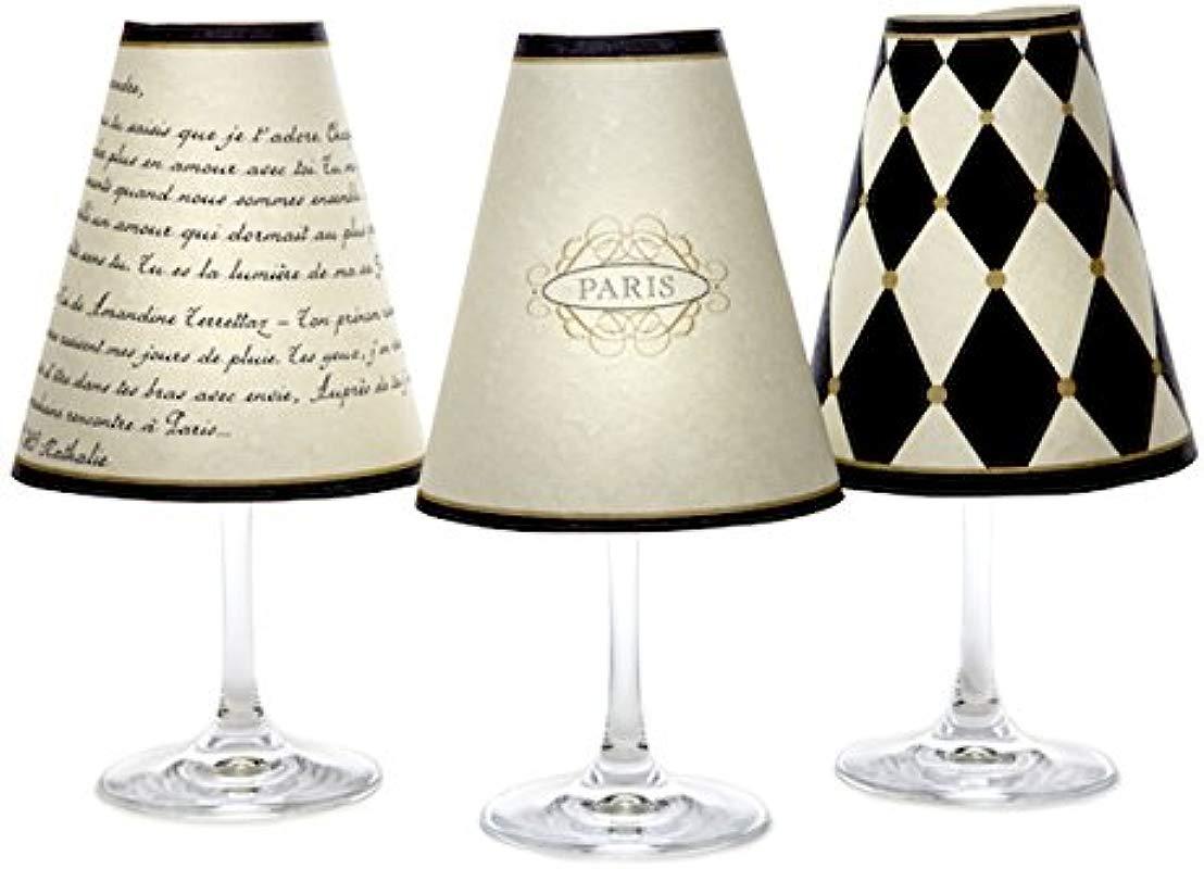 Di Potter Wine Glass Shade Paris