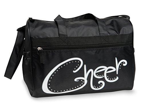 Rhinestone Cheer Duffel Bag by Danshuz
