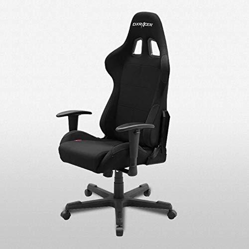 DXRacer Formula Series Bürostuhl/Gamingstuhl, ergonomisch, hohe Rückenlehne, Schwarz