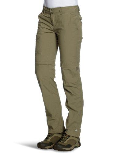 Columbia Silver Ridge Pantalon Long Convertible, Femme, Femme, Sage, Size 8 Regular