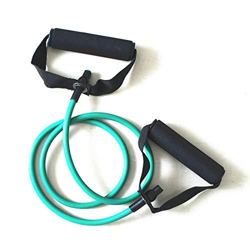 WLYNC Fitness Yoga Zigzag Spanngurt VerläNgerung Gurt Widerstandskraft Arm Kraft Seil Gewicht Verlust TrainingsgeräTe FüNf Farben