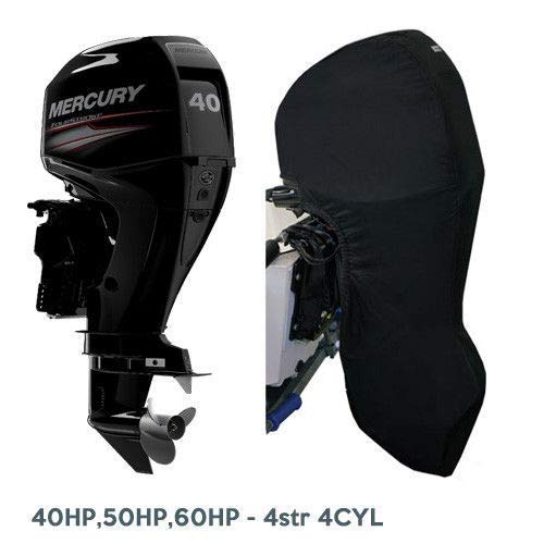 Oceansouth Outboard Motor Full Cover for Mercury/Mariner (40-60HP 4 Stroke 4 CYL)