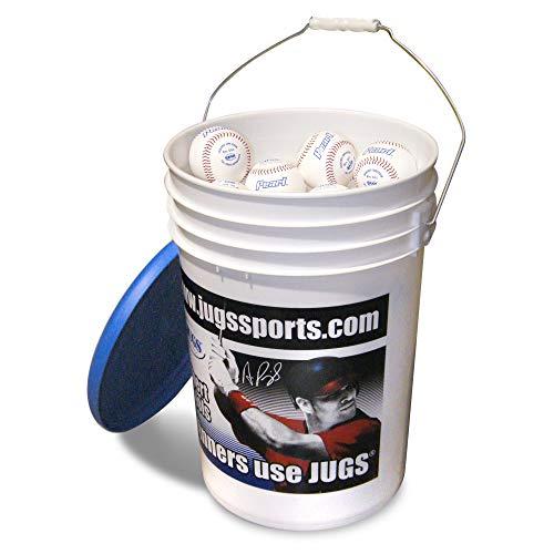 Jugs Bucket of Pearls Baseball White 9 Inch