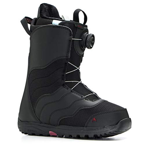Burton Mint Boa Snowboard Boot - Women's Black, 5.5