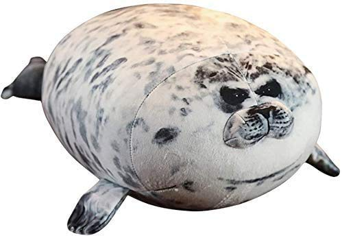 Gefüllte & Plüsch spielt Kreative Spielzeugsiegel Plüsch Puppe Kissen Aquarium Beliebte Weiche Seeheigel Meer Löwen Plüsch Spielzeug Puppe Kinder Geburtstagsgeschenk (Größe: 30 cm), Größe: 60cm (Größe