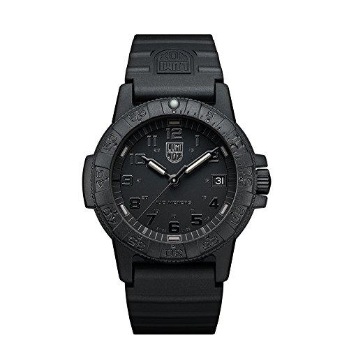 Luminox Unisex Erwachsene Analog Quarz Uhr mit PU Armband XS.0301.BO.L