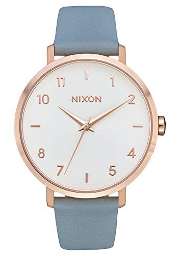 Reloj de pulsera Arrow de Nixon, para mujer, estilo informal, de 38 mm, correa de piel